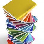 Tiled Book Stack - FREE